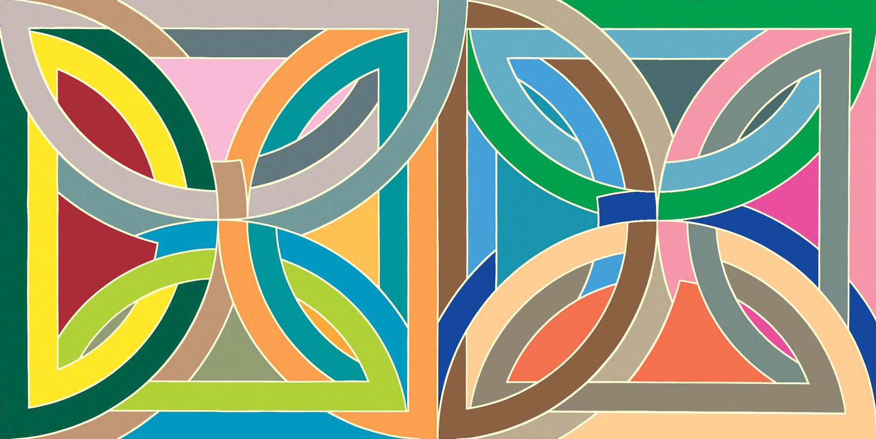 Frank Stella Paintings Images