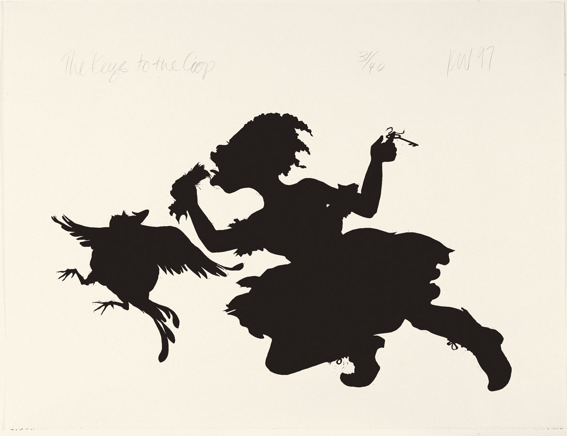 kara walker Kara walker's work explores the raw intersection of race, gender, and sexuality through iconic, silhouetted figures walker unleashes the traditionally victorian medium of the silhouette directly onto the walls of the gallery in recent works, the walker uses overhead projectors to throw light onto the walls and.